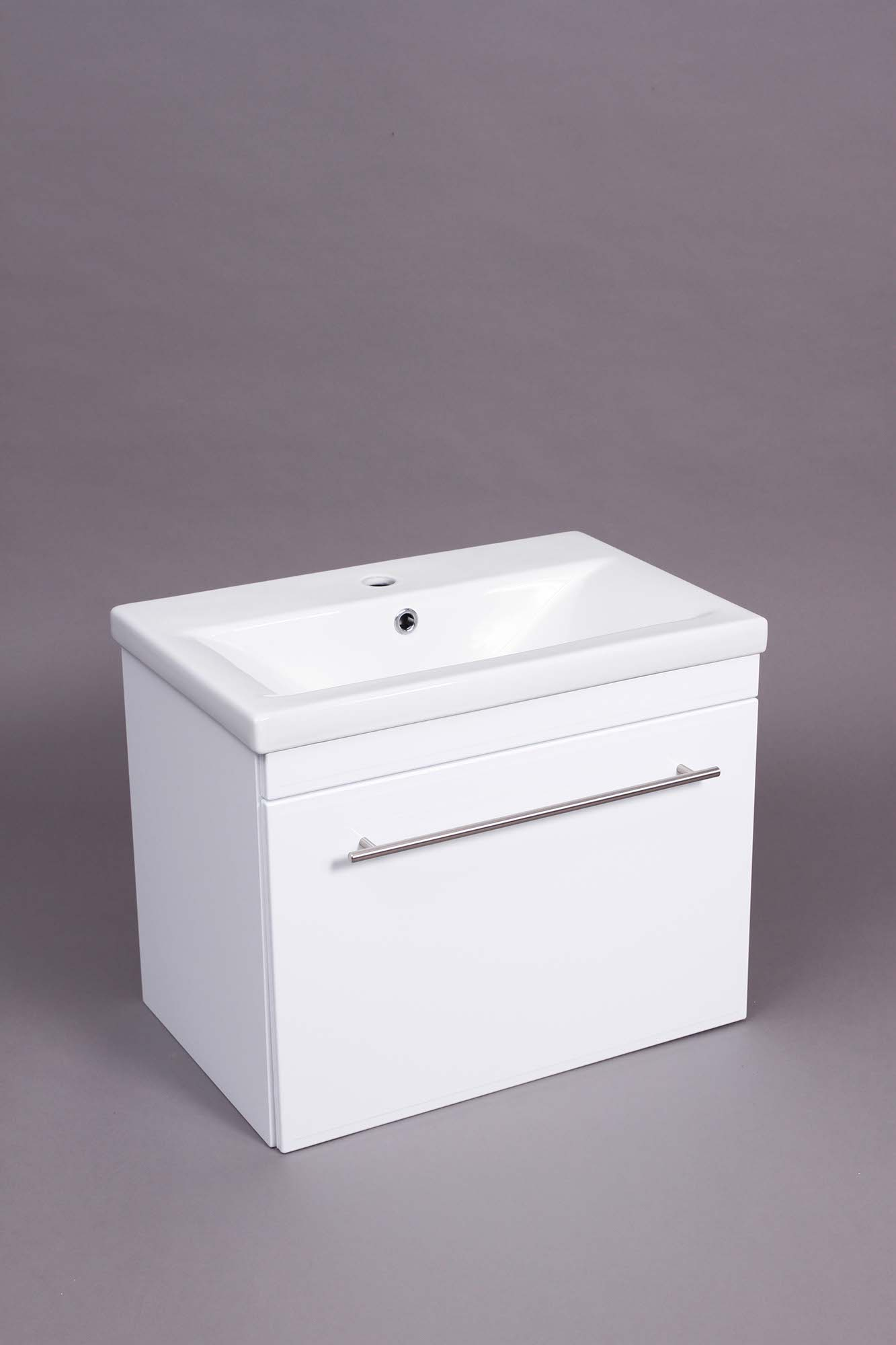 Jackie 600 WH 1 Drawer