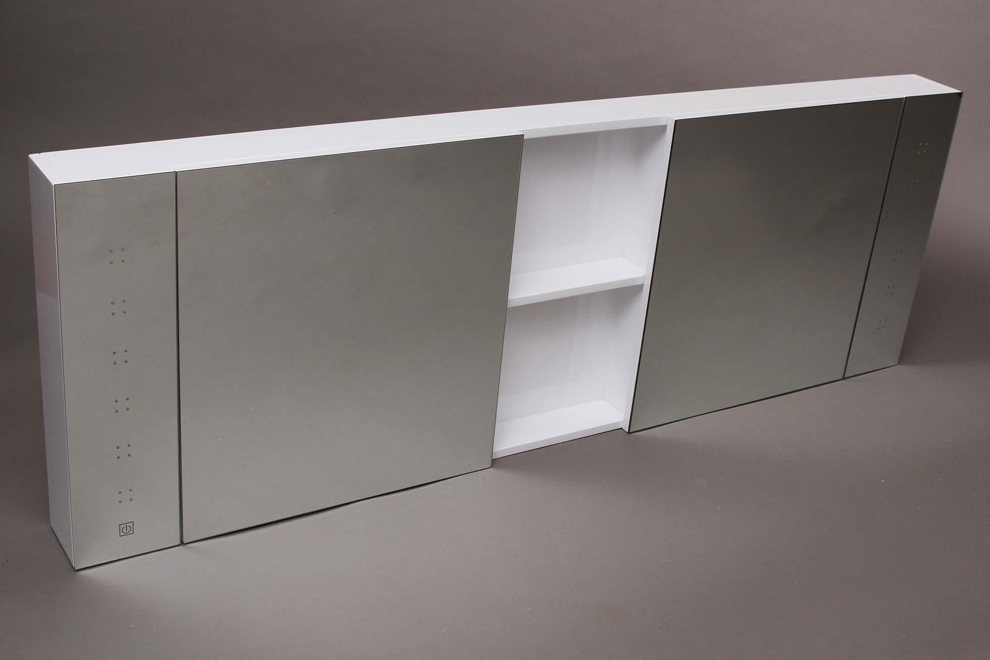 LED 1600 Mirror Cabinet